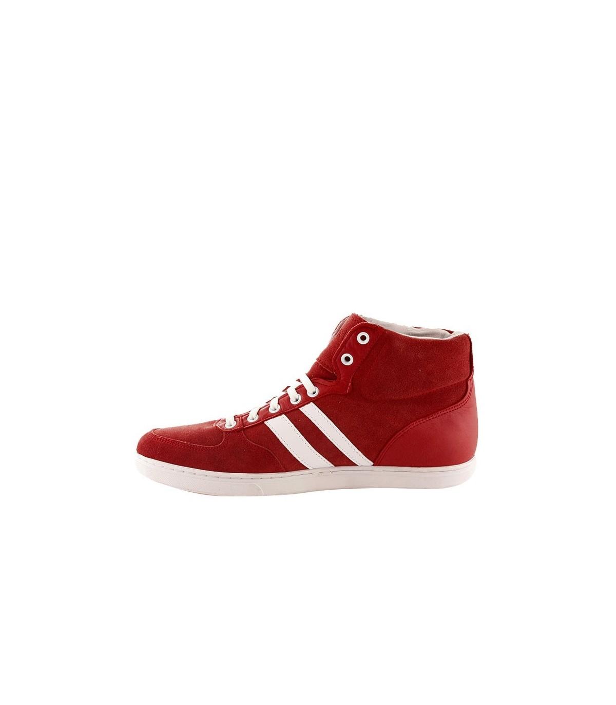 f5fca9271ac Zapatillas botitas rojas