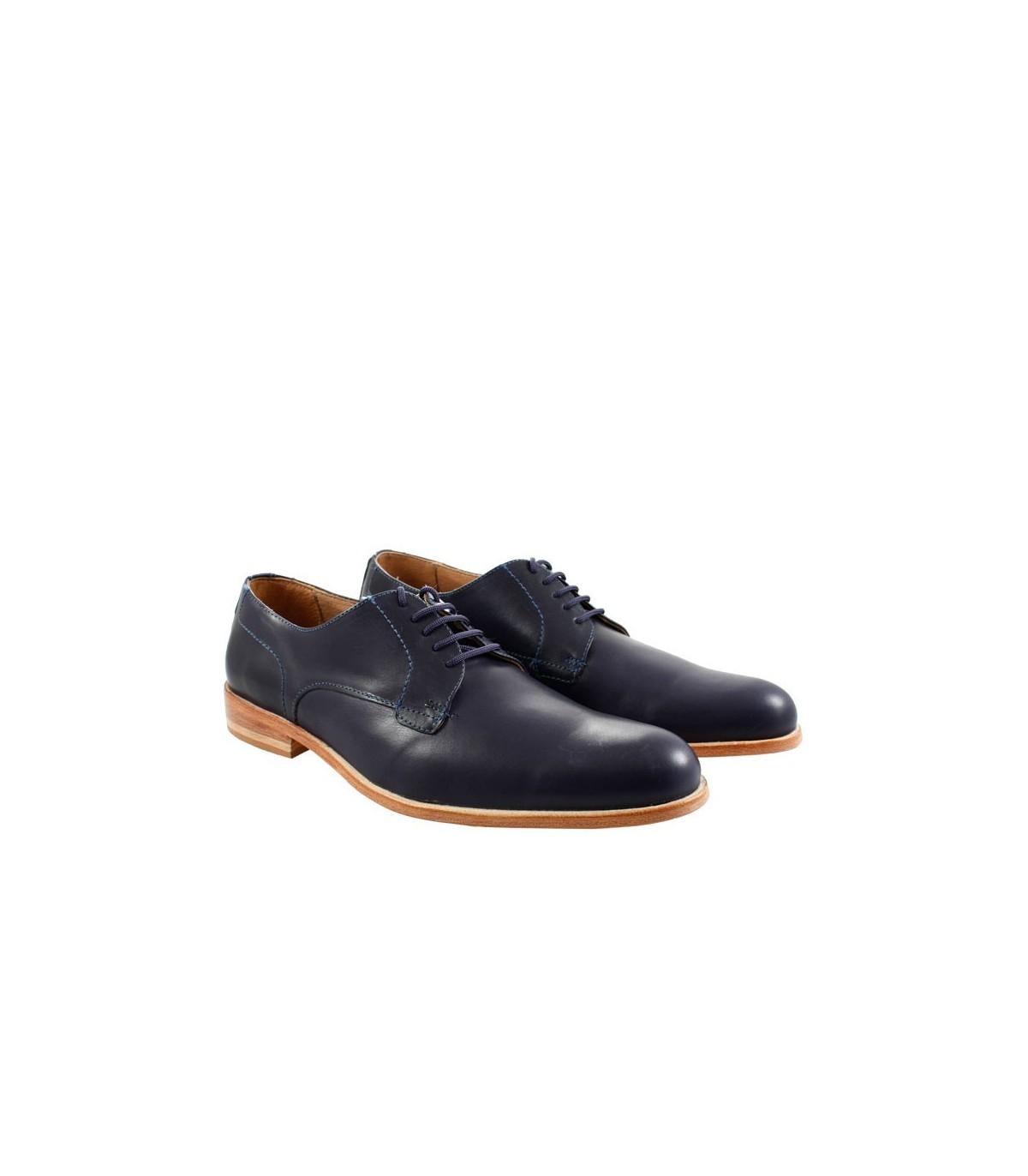 Azul Vestir De Batistella Hombre Cuero Zapatos tq7SwnRw