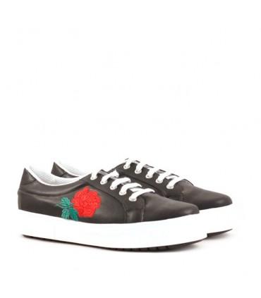 Zapatillas en negro
