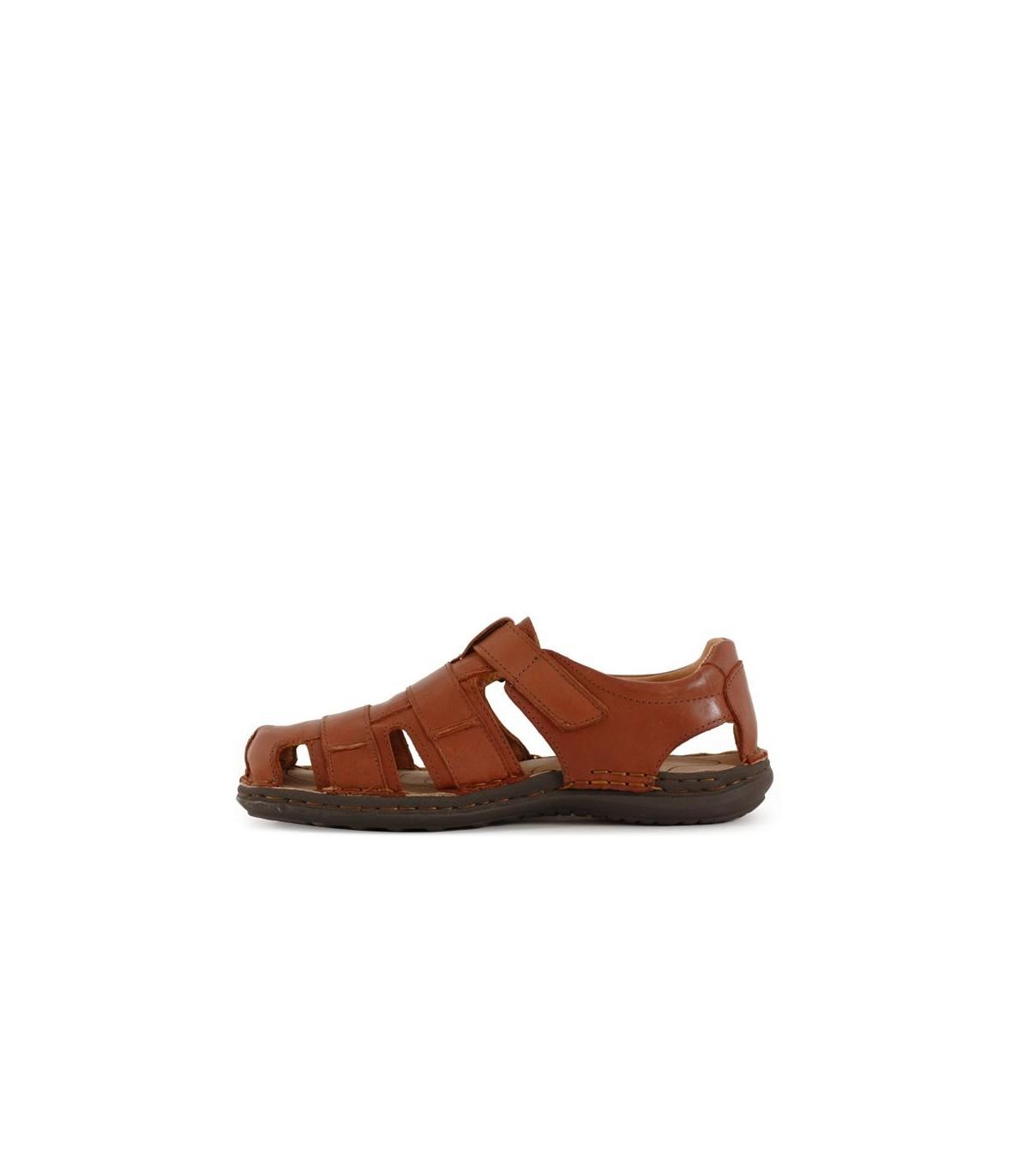 bd3470df2c5 Sandalias de cuero marrón
