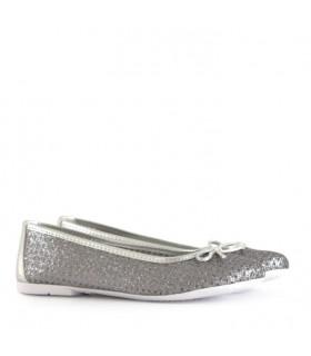 Chatitas de gliter en plata
