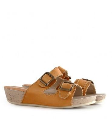 Sandalias de cuero en colonial
