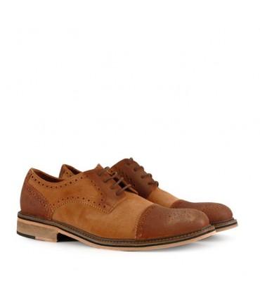 Zapatos de descarne gamuzado en suela - CONCEPT