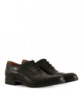 Zapatos de vestir planta de goma en negro