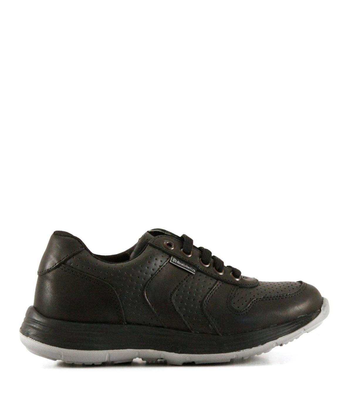 6b6ea50d Zapatillas colegiales de cuero negro|Colegiales|Batistella