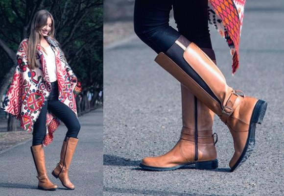 Esenciales para el invierno: las botas altas