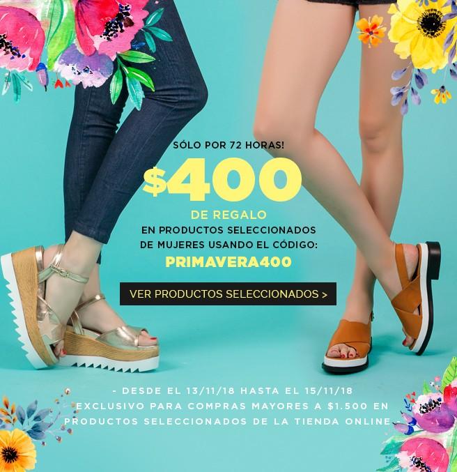 Promo PRIMAVERA400